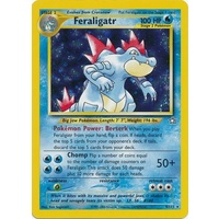 Feraligatr 4/111 Neo Genesis Unlimited Holo Rare Pokemon Card NEAR MINT TCG