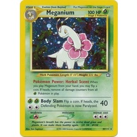 Meganium 10/111 Neo Genesis Unlimited Holo Rare Pokemon Card NEAR MINT TCG