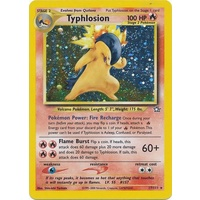 Typhlosion 17/111 Neo Genesis Unlimited Holo Rare Pokemon Card NEAR MINT TCG
