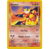 Magmar 40/111 Neo Genesis Unlimited Uncommon Pokemon Card NEAR MINT TCG