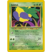 Oddish 68/111 Neo Genesis Unlimited Common Pokemon Card NEAR MINT TCG