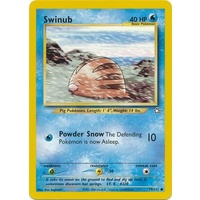 Swinub 79/111 Neo Genesis Unlimited Common Pokemon Card NEAR MINT TCG