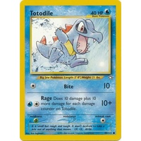 Totodile 80/111 Neo Genesis Unlimited Common Pokemon Card NEAR MINT TCG
