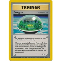 Ecogym 84/111 Neo Genesis Unlimited Rare Trainer Pokemon Card NEAR MINT TCG