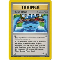 Focus Band 86/111 Neo Genesis Unlimited Rare Trainer Pokemon Card NEAR MINT TCG
