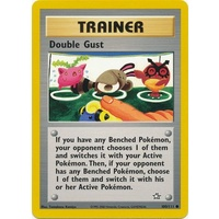 Double Gust 100/111 Neo Genesis Unlimited Common Trainer Pokemon Card NEAR MINT TCG