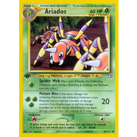 Ariados 27/111 Neo Genesis 1st Edition Uncommon Pokemon Card NEAR MINT TCG