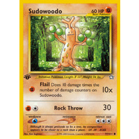 Sudowoodo 77/111 Neo Genesis 1st Edition Common Pokemon Card NEAR MINT TCG