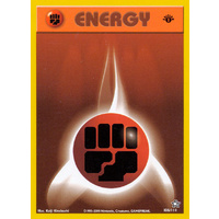 Fighting Energy 106/111 Neo Genesis 1st Edition Common Pokemon Card NEAR MINT TCG