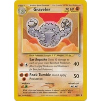 Graveler 30/64 Neo Revelation Unlimited Uncommon Pokemon Card NEAR MINT TCG
