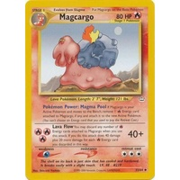 Magcargo 33/64 Neo Revelation Unlimited Uncommon Pokemon Card NEAR MINT TCG