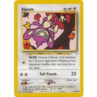 Aipom 41/64 Neo Revelation Unlimited Common Pokemon Card NEAR MINT TCG