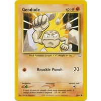 Geodude 44/64 Neo Revelation Unlimited Common Pokemon Card NEAR MINT TCG