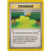 Healing Field 61/64 Neo Revelation Unlimited Uncommon Trainer Pokemon Card NEAR MINT TCG