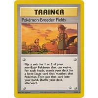 Pokemon Breeder Fields 62/64 Neo Revelation Unlimited Uncommon Trainer Pokemon Card NEAR MINT TCG
