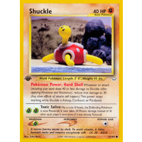 Shuckle 51/64 Neo Revelation 1st Edition Common Pokemon Card NEAR MINT TCG