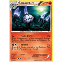Chandelure 20/99 BW Next Destinies Holo Rare Pokemon Card NEAR MINT TCG