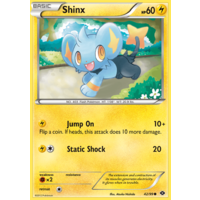 Shinx 42/99 BW Next Destinies Common Pokemon Card NEAR MINT TCG