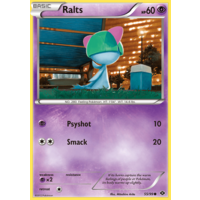 Ralts 55/99 BW Next Destinies Common Pokemon Card NEAR MINT TCG