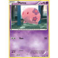 Munna 58/99 BW Next Destinies Common Pokemon Card NEAR MINT TCG