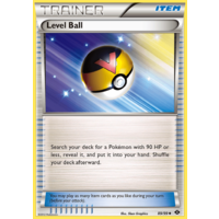 Level Ball 89/99 BW Next Destinies Uncommon Trainer Pokemon Card NEAR MINT TCG