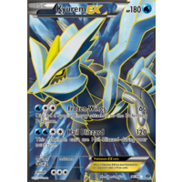 Kyurem EX 96/99 BW Next Destinies Holo Ultra Rare Full Art Pokemon Card NEAR MINT TCG