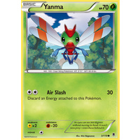 Yanma 3/119 XY Phantom Forces Common Pokemon Card NEAR MINT TCG