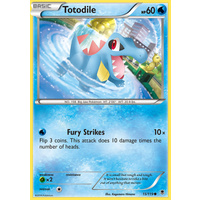 Totodile 15/119 XY Phantom Forces Common Pokemon Card NEAR MINT TCG