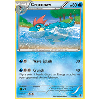 Croconaw 16/119 XY Phantom Forces Uncommon Pokemon Card NEAR MINT TCG