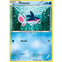 Finneon 18/119 XY Phantom Forces Common Pokemon Card NEAR MINT TCG