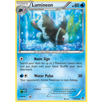 Lumineon 19/119 XY Phantom Forces Uncommon Pokemon Card NEAR MINT TCG