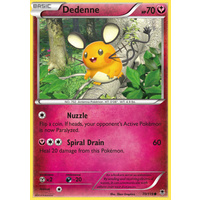 Dedenne 70/119 XY Phantom Forces Common Pokemon Card NEAR MINT TCG