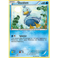 Ducklett 29/101 BW Plasma Blast Common Pokemon Card NEAR MINT TCG