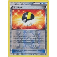 Ultra Ball 90/101 BW Plasma Blast Reverse Holo Uncommon Trainer Pokemon Card NEAR MINT TCG