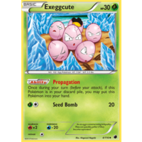 Exeggcute 4/116 BW Plasma Freeze Uncommon Pokemon Card NEAR MINT TCG