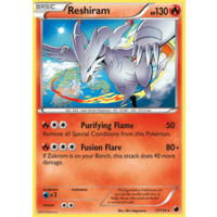 Reshiram 17/116 BW Plasma Freeze Holo Rare Pokemon Card NEAR MINT TCG