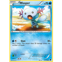 Wooper 21/116 BW Plasma Freeze Common Pokemon Card NEAR MINT TCG