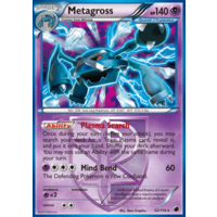 Metagross 52/116 BW Plasma Freeze Holo Rare Pokemon Card NEAR MINT TCG