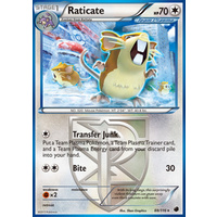 Raticate 88/116 BW Plasma Freeze Rare Pokemon Card NEAR MINT TCG