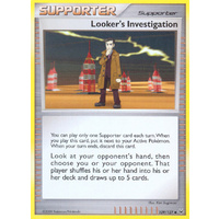 Looker's Investigation 109/127 Platinum Base Set Uncommon Trainer Pokemon Card NEAR MINT TCG