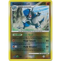 Rampardos 13/127 Platinum Base Set Reverse Holo Rare Pokemon Card NEAR MINT TCG