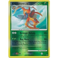 Kricketune 32/127 Platinum Base Set Reverse Holo Rare Pokemon Card NEAR MINT TCG