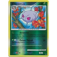 Cascoon 44/127 Platinum Base Set Reverse Holo Uncommon Pokemon Card NEAR MINT TCG