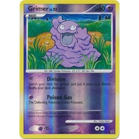 Grimer 75/127 Platinum Base Set Reverse Holo Common Pokemon Card NEAR MINT TCG