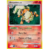 Arcanine 1/111 Platinum Rising Rivals Holo Rare Pokemon Card NEAR MINT TCG