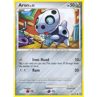 Aron 57/111 Platinum Rising Rivals Common Pokemon Card NEAR MINT TCG
