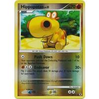 Pokemon Hippowdon 42//111 Platinum Rising Rivals REVERSE HOLO PERFECT MINT