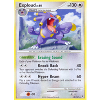 Exploud 28/147 Platinum Supreme Victors Rare Pokemon Card NEAR MINT TCG