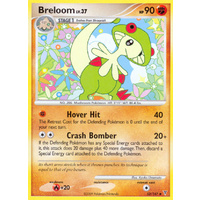 Breloom 52/147 Platinum Supreme Victors Uncommon Pokemon Card NEAR MINT TCG