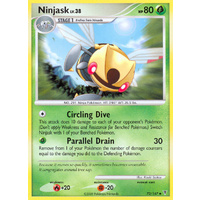 Ninjask 73/147 Platinum Supreme Victors Uncommon Pokemon Card NEAR MINT TCG